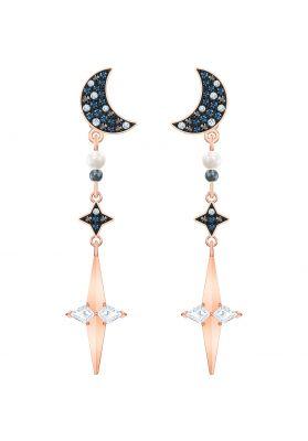Swarovski Symbolic Pierced Earring Jackets, Multi-Coloured, Mixed Metal Plating