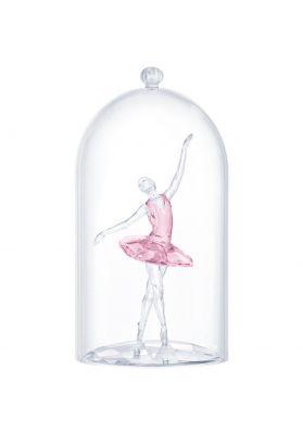 Swarovski Crystal Ballerina Under Bell Jar