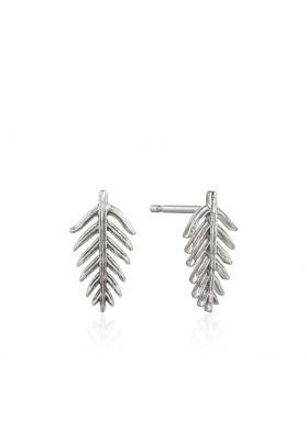 Ania Haie Palm Stud Earrings, Silver
