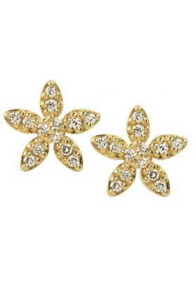 byBiehl Forget Me Not Gold Earrings 4-003-GP