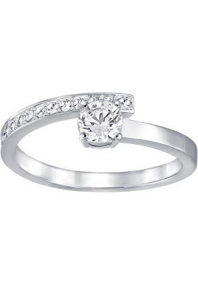 Swarovski Fresh Ring, White, Rhodium Plating