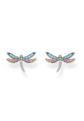 Thomas Sabo Dragonfly Ear Studs, Gold H2051-315-7