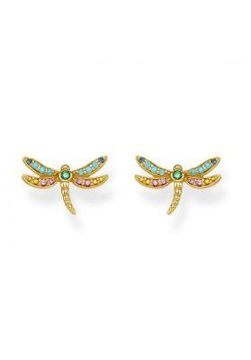 Thomas Sabo Dragonfly Ear Studs, Gold