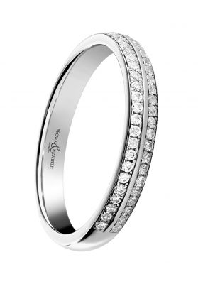 Brown & Newirth 'Spirit' Half Eternity Ring