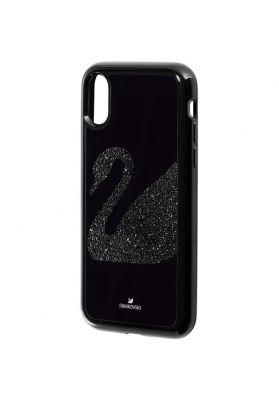 Swarovski Swan Fabric Smartphone Case with Integrated Bumper iPhone®, X/XS
