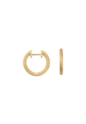 byBiehl Isla Small Gold Hoops