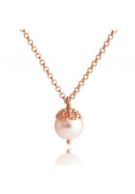 Jersey Pearl Emma-Kate Pendant, Gold