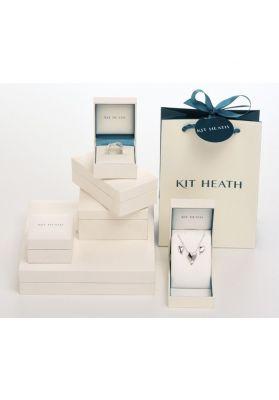 Kit Heath Miniature Lunar Moon Gold Plate Necklace