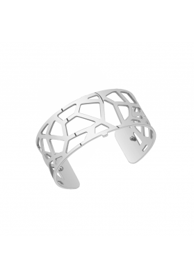 Les Georgettes Girafe 25mm Silver Finish Bangle