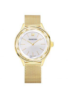 Swarovski Octea Nova Watch, Milanese Bracelet, Gold Tone