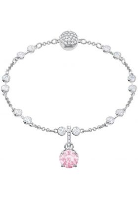 Swarovski Remix Collection Charm, October, Pink, Rhodium Plating