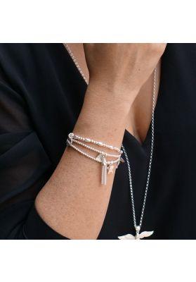 Annie Haak Santeenie Silver Tassel Bracelet