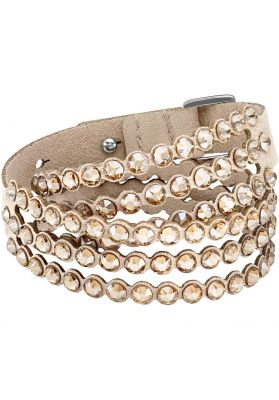 Swarovski Power Collection Slake Bracelet, Brown
