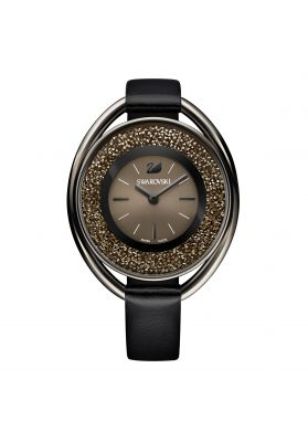 Swarovski_Crystalline_Oval_All_Black_Leather_Watch