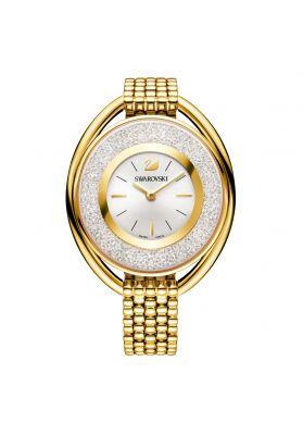 Swarovski_Crystalline_Oval_Gold_Metal_Watch