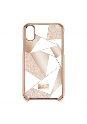Swarovski_Heroism_iPhone_X_Case_Rose_Gold