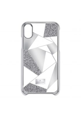 Swarovski_Heroism_iPhone_X_Case_Silver