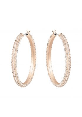 Swarovski_Stone_Hoop_Earrings_Rhodium.