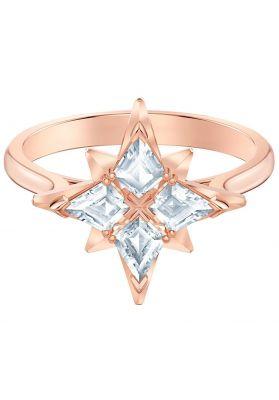 Swarovski Symbolic Ring, White, Rose Gold Plating