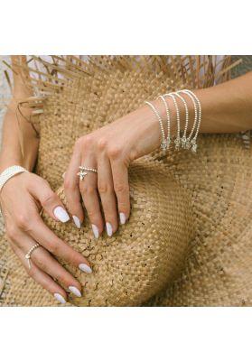 Annie Haak Santeenie Silver Charm Bracelet - Tree of Life