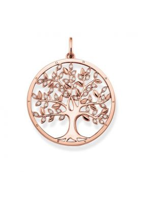 Thomas Sabo Tree of Love Pendant, Rose