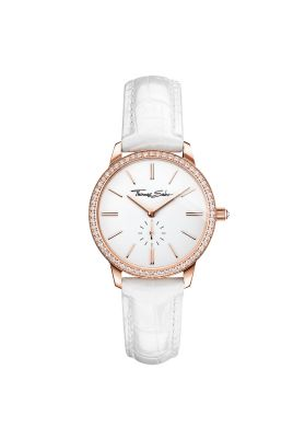 Thomas Sabo Women's Glam Spirit Watch, Pave Rose and White