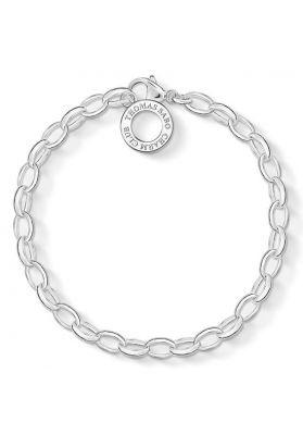 Thomas Sabo Silver Charm Bracelet X0031-001-12