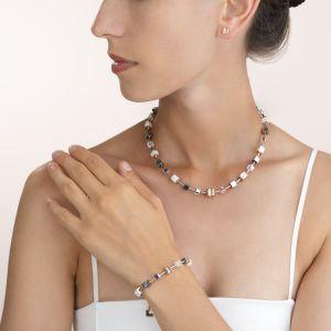 Coeur De Lion Pavé Crystal Rose Gold Earrings 0225211800