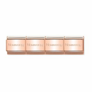 Nomination Classic Rose Gold Stainless Steel Starter Bracelet