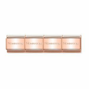 Nomination Classic Rose Gold Stainless Steel Starter Bracelet