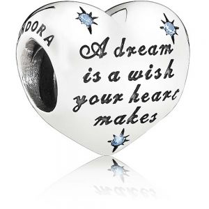 Pandora Disney Cinderella Dream Heart Charm 791593CFL