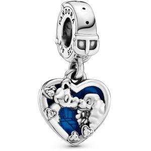 Pandora Disney Lady and the Tramp Heart Dangle Charm 798634C01