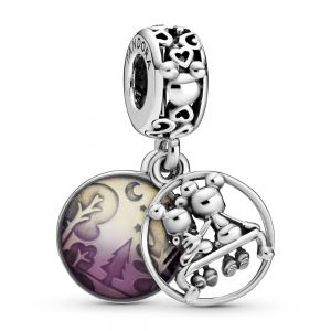 Pandora Disney Mickey Mouse & Minnie Mouse Happily Ever After Dangle Charm 798866C01