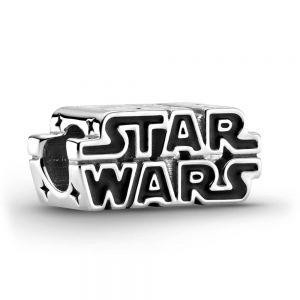 Pandora Star Wars Silver 3D Logo Charm 799246C01