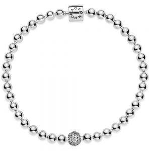 Pandora Beads & Pavé Bracelet 598342CZ