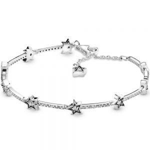 Pandora Celestial Stars Bracelet 598498c01-16, 598498c01-18, 598498c01-20