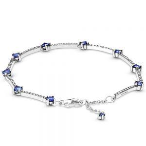 Pandora Sparkling Pavé Bars Bracelet 599217c01-16, 599217c01-18, 599217c01-20