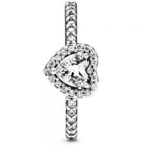Pandora Elevated Heart Ring 198421c01