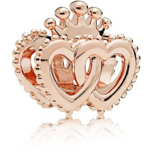 Pandora Crown & Entwined Hearts Charm-787670