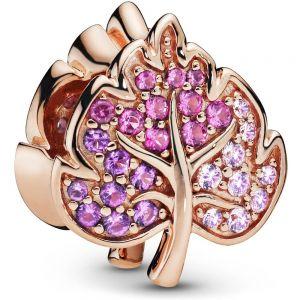 Pandora Rose Sparkling Pavé Leaf Charm-788322NPMMX