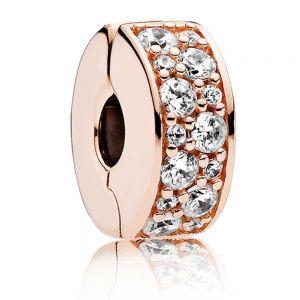 Pandora Rose Clear Pavé Clip Charm 781817CZ
