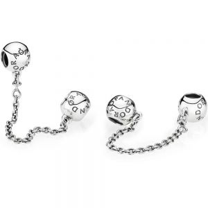 Pandora Logo Safety Chain Charm 791877-05