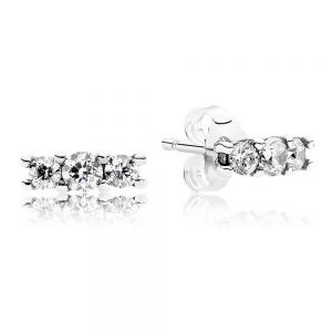 Pandora Sparkling Stud Earrings 290725CZ