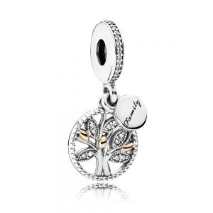 Pandora Sparkling Family Tree Dangle Charm 791728CZ