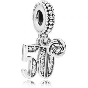Pandora 50th Celebration Dangle Charm  797264CZ