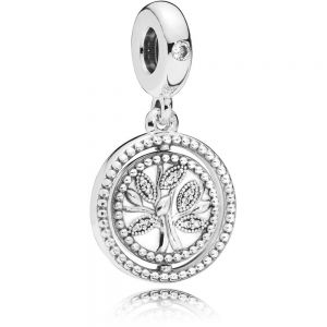 Pandora Spinning Family Tree Dangle Charm 797786CZ