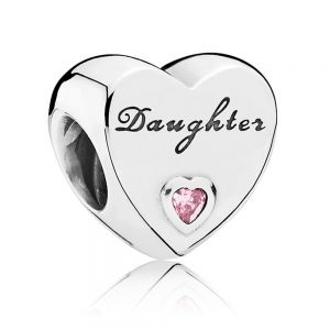 Pandora Daughter Heart Charm 791726PCZ