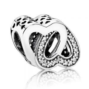 Pandora Entwined Hearts Charm