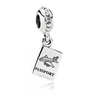 Pandora Passport Travel Dangle Charm 791147CZ