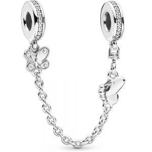 Pandora Butterfly Safety Chain Charm 797865CZ-05
